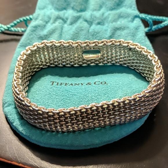 Tiffany & Co. Jewelry - Tiffany & Co Somerset mesh bracelet
